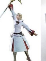 Weißmagier Perücke von Final Fantasy XIV